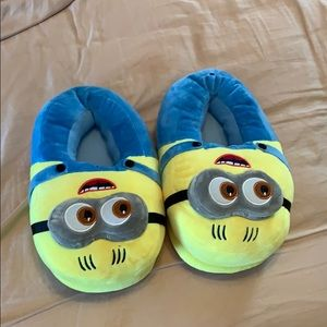 Shoes - Minion slippers worn once